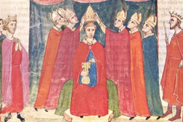 Crowning of Benedict XI