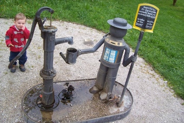 At the Pump